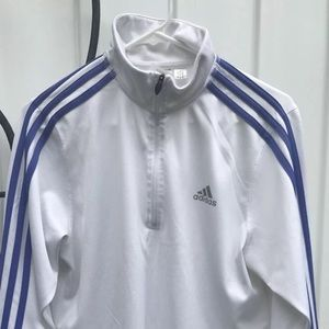 Vintage 03 ADIDAS Climacool Wh/Pur Pullover Jacket